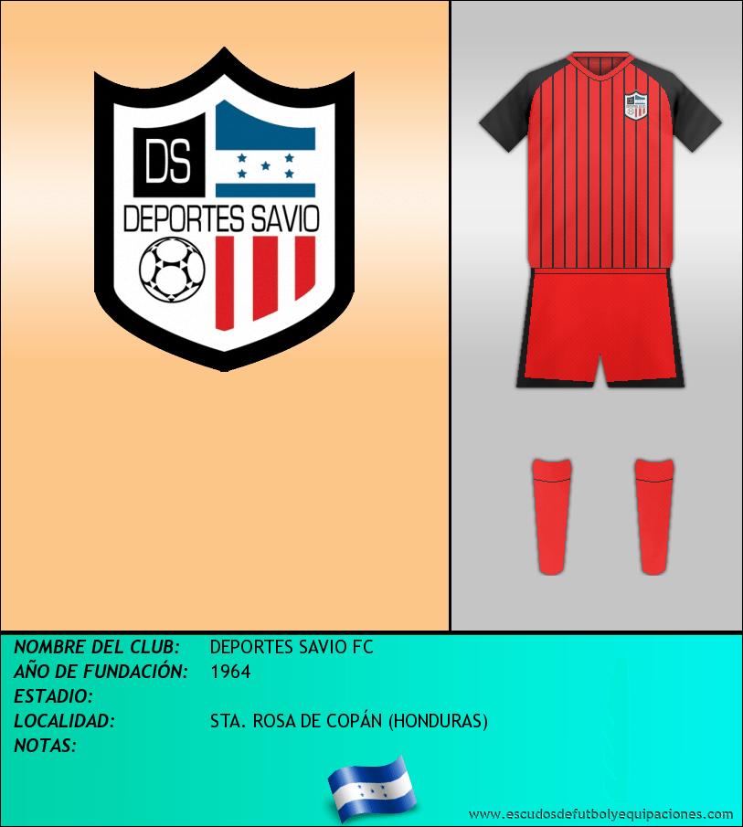 Escudo de DEPORTES SAVIO FC