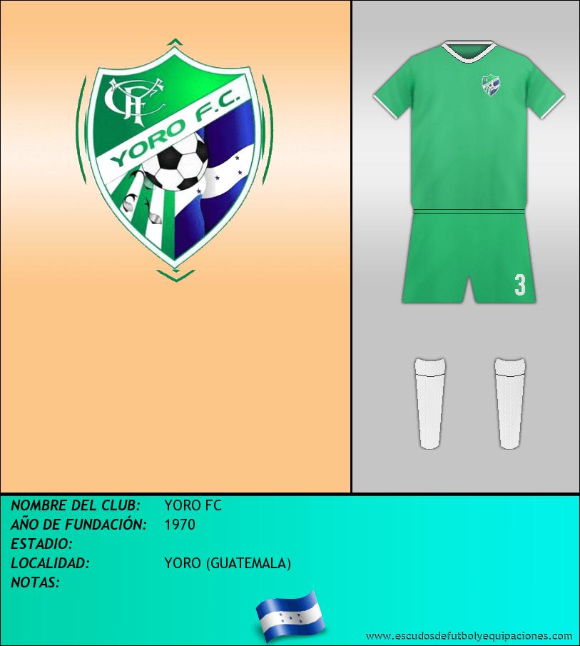 Escudo de YORO FC