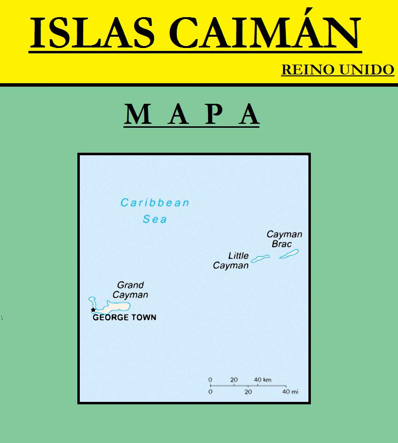 Escudo de MAPA DE ISLAS CAIMÁN