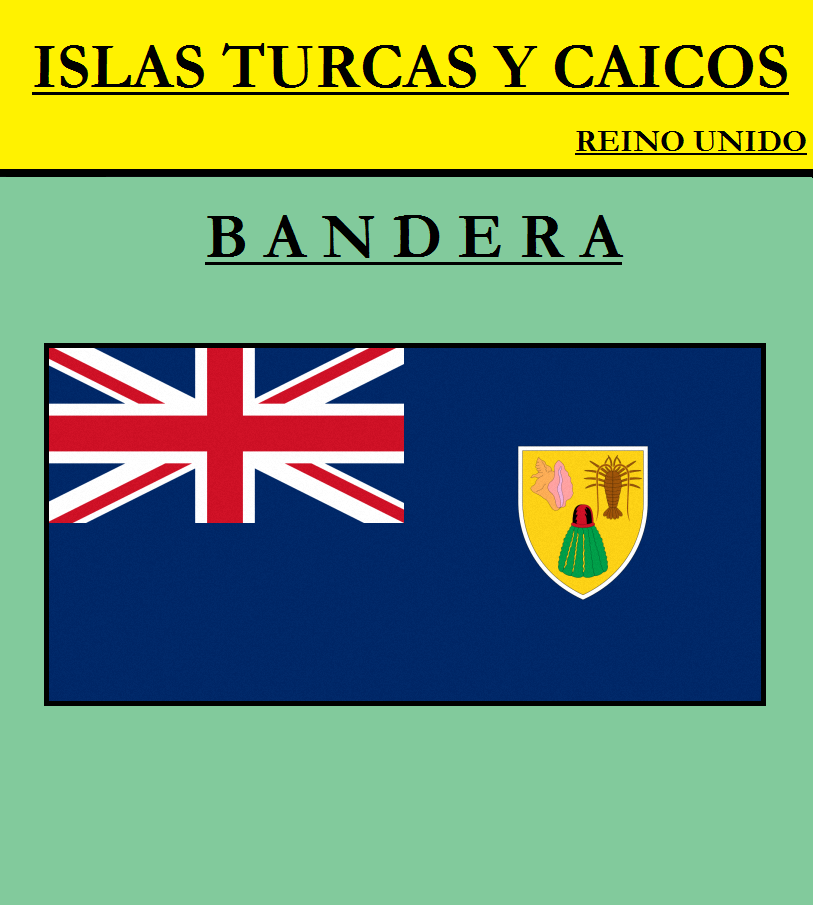 Escudo de BANDERA DE ISLAS TURCAS Y CAICOS