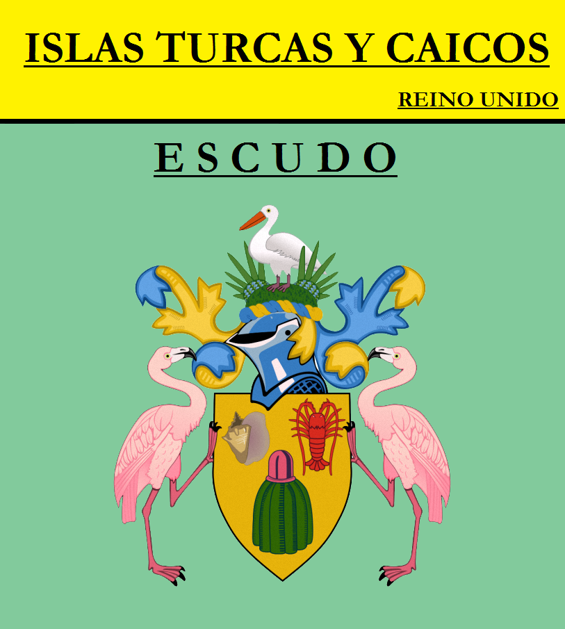 Escudo de ESCUDO DE ISLAS TURCAS Y CAICOS