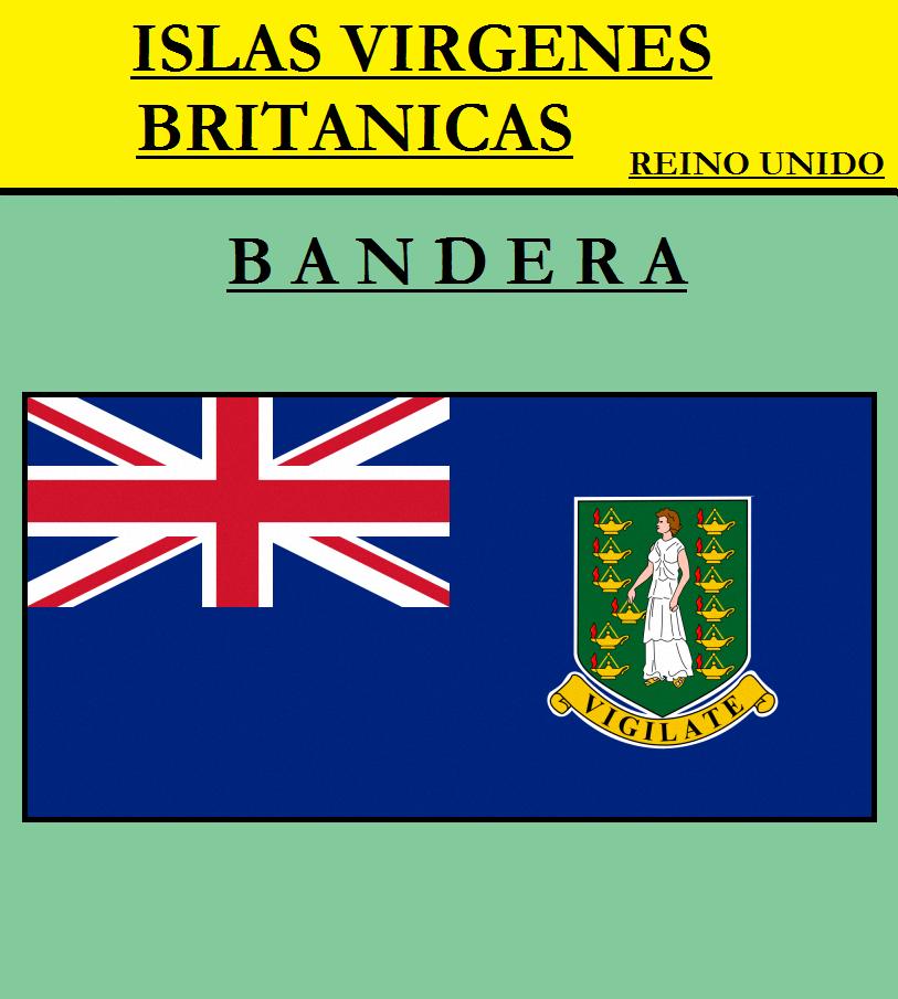 Escudo de BANDERA DE ISLAS VÍRGENES BRITÁNICAS