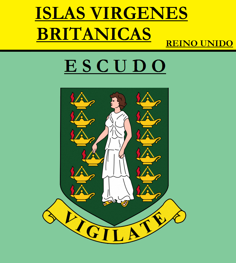 Escudo de ESCUDO DE ISLAS VÍRGENES BRITÁNICAS