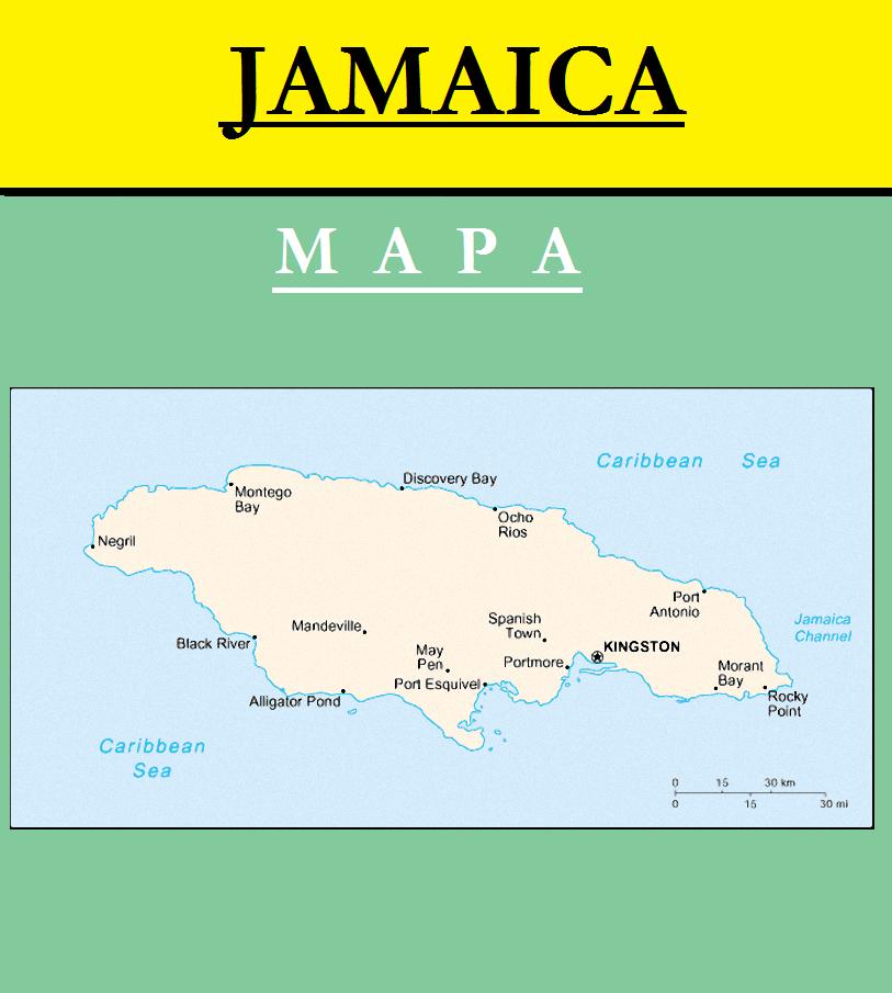 Escudo de MAPA DE JAMAICA