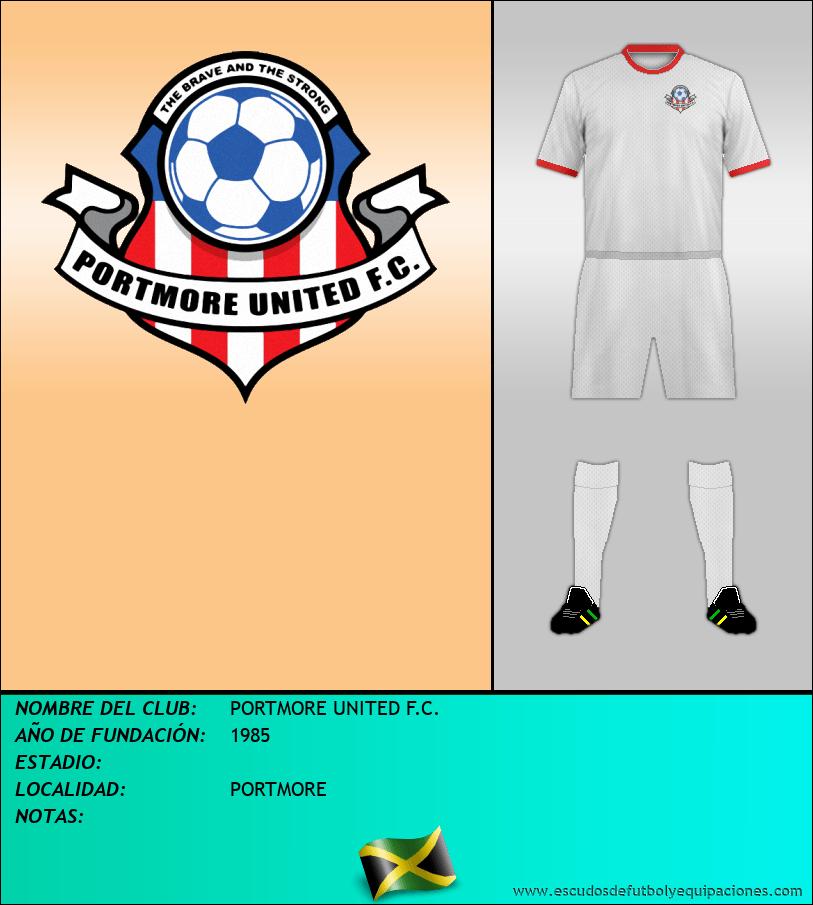 Escudo de PORTMORE UNITED F.C.