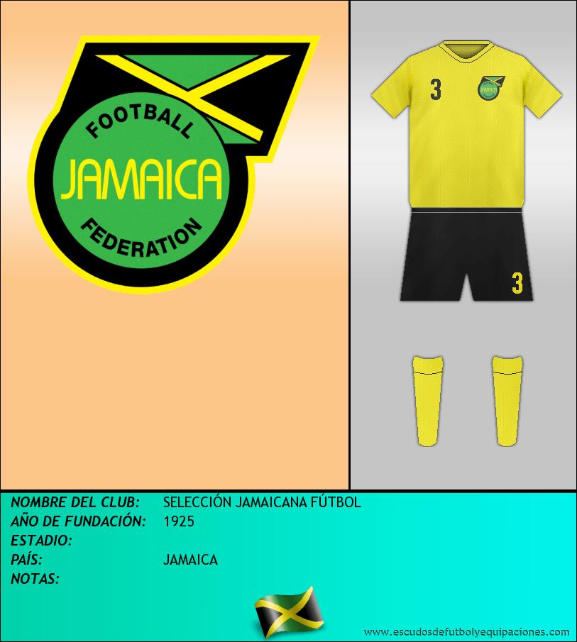 Escudo de SELECCIÓN JAMAICANA FÚTBOL