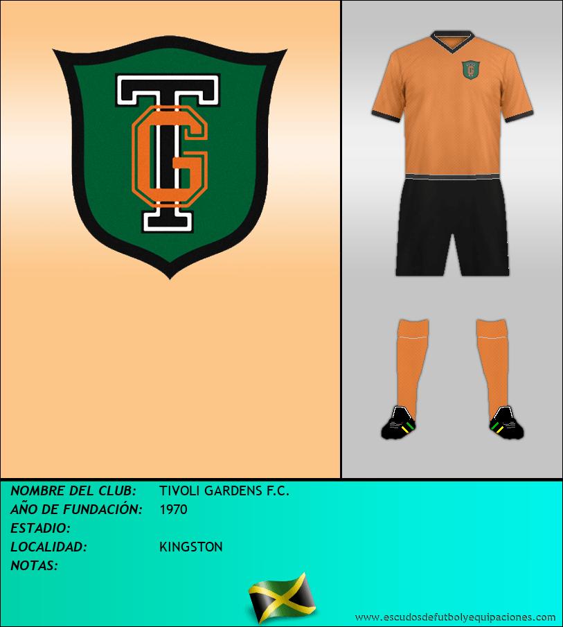 Escudo de TIVOLI GARDENS F.C.