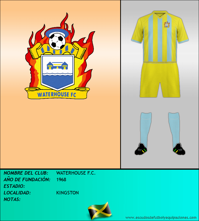 Escudo de WATERHOUSE F.C.