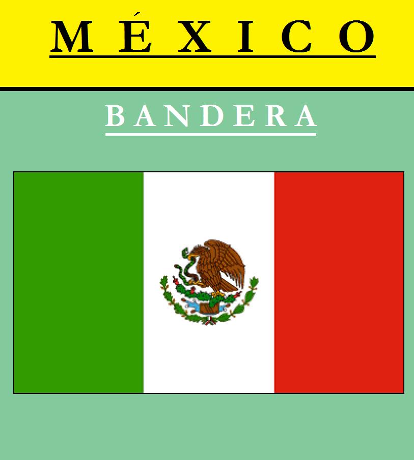 Escudo de BANDERA DE MÉXICO