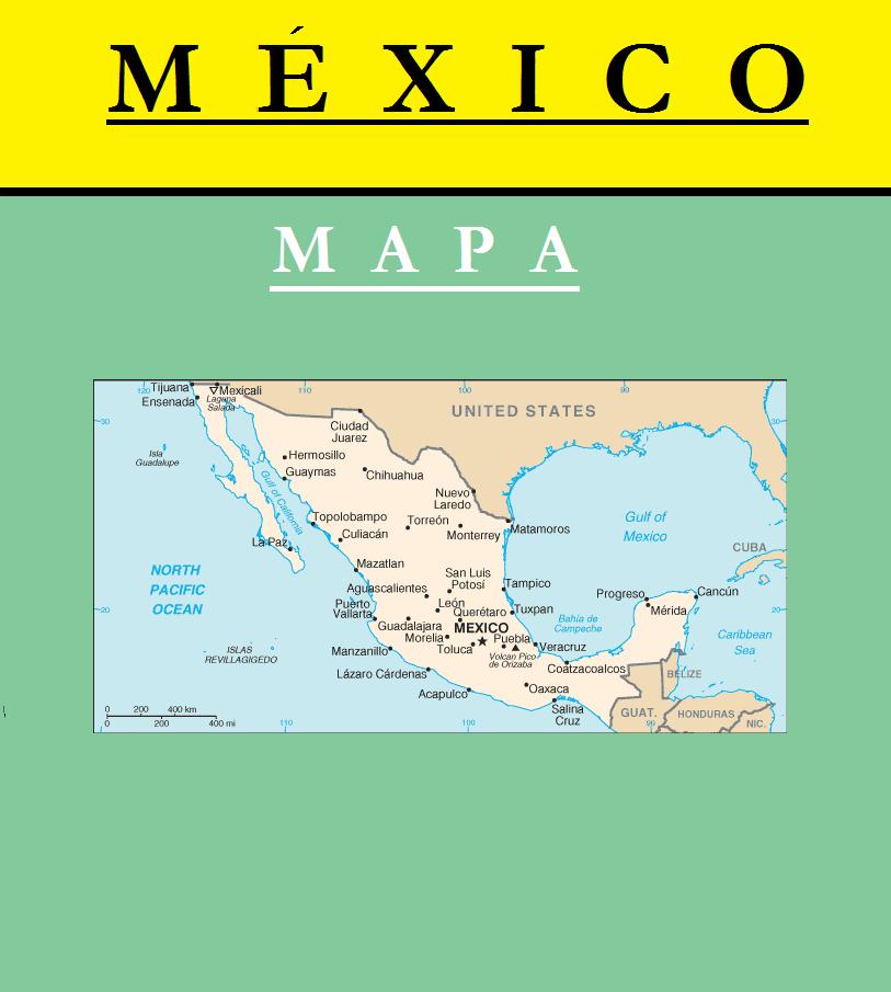 Escudo de MAPA DE MÉXICO