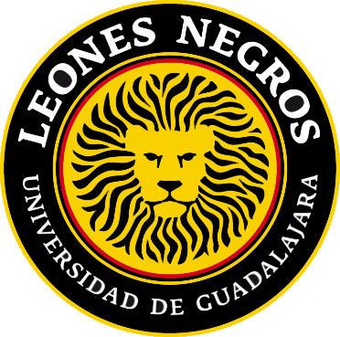Escudo de LEONES NEGROS U. GUADALAJARA (MÉXICO)