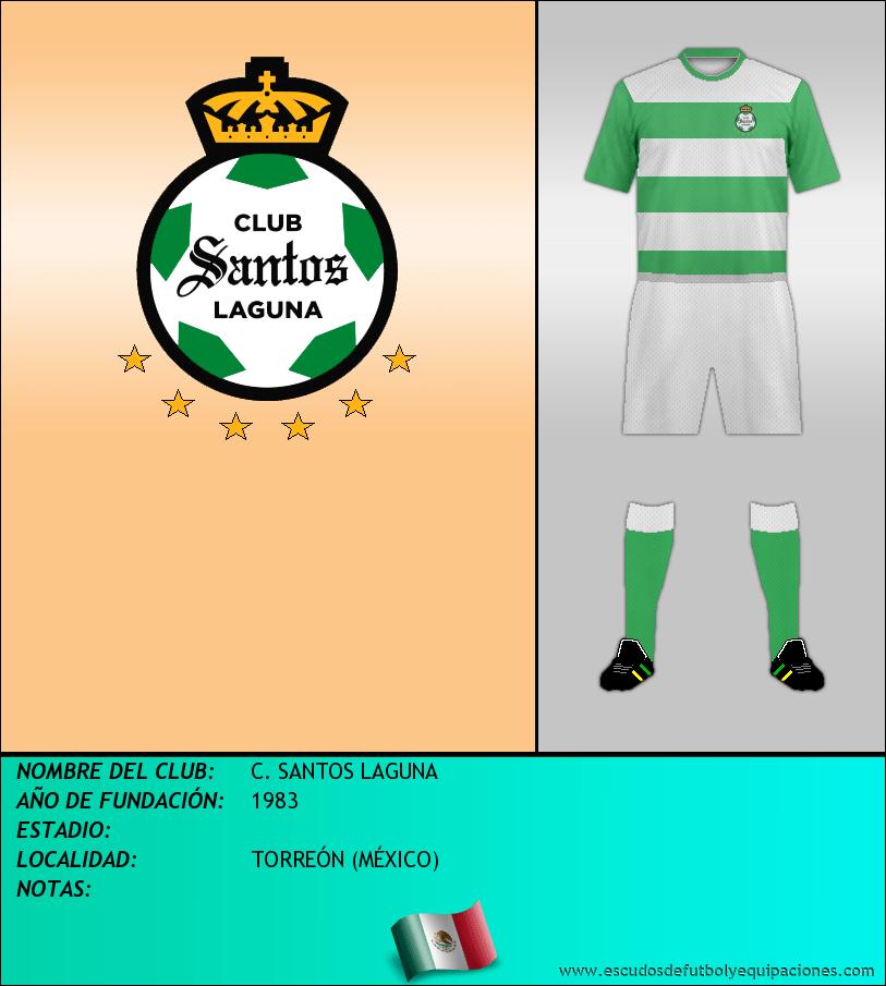 Escudo de C. SANTOS LAGUNA