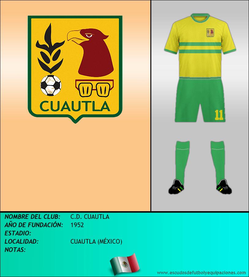Escudo de C.D. CUAUTLA