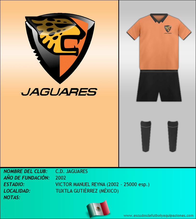 Escudo de C.D. JAGUARES