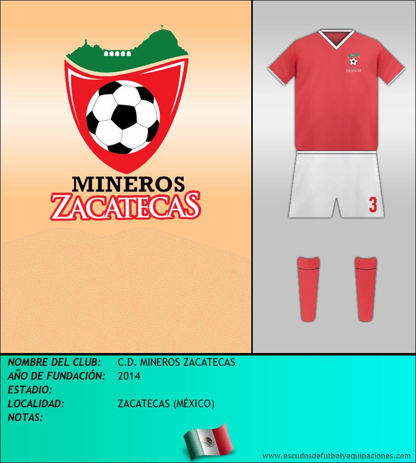 Escudo de C.D. MINEROS ZACATECAS