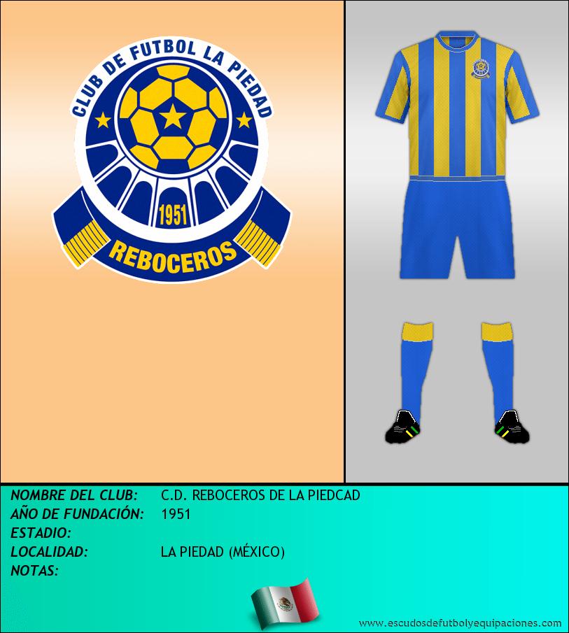 Escudo de C.D. REBOCEROS DE LA PIEDCAD