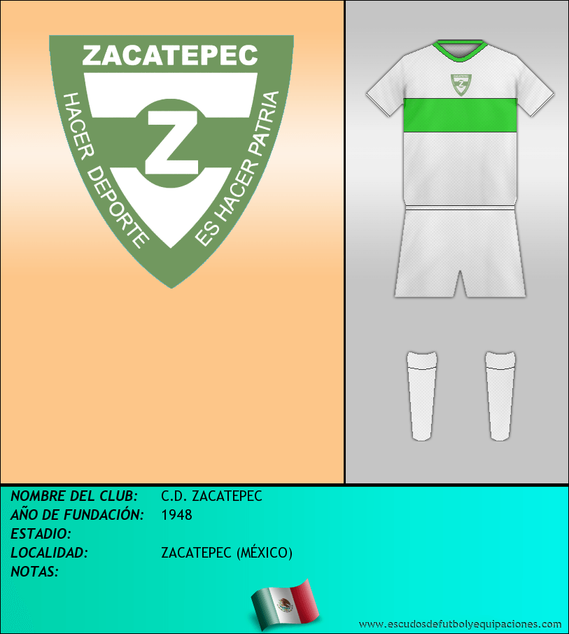 Escudo de C.D. ZACATEPEC