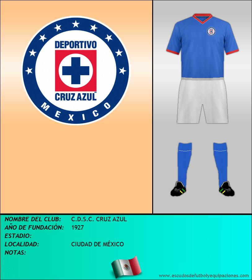 Escudo de C.D.S.C. CRUZ AZUL