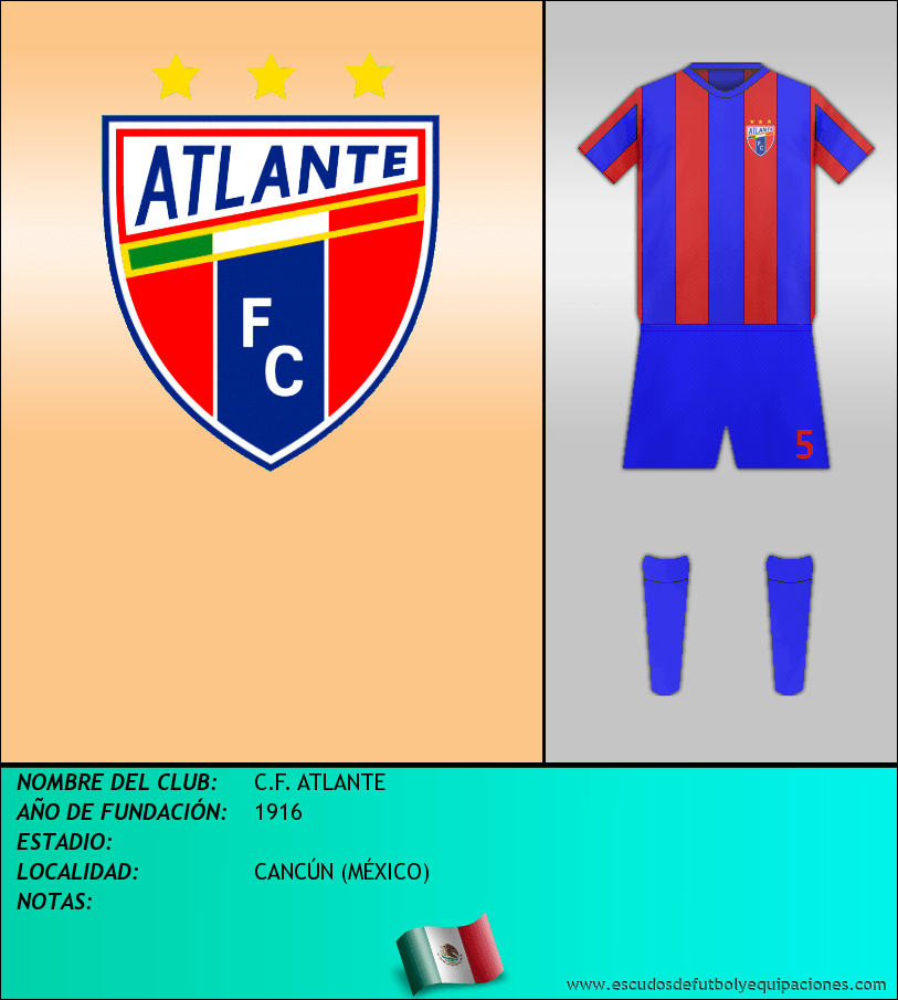 Escudo de C.F. ATLANTE