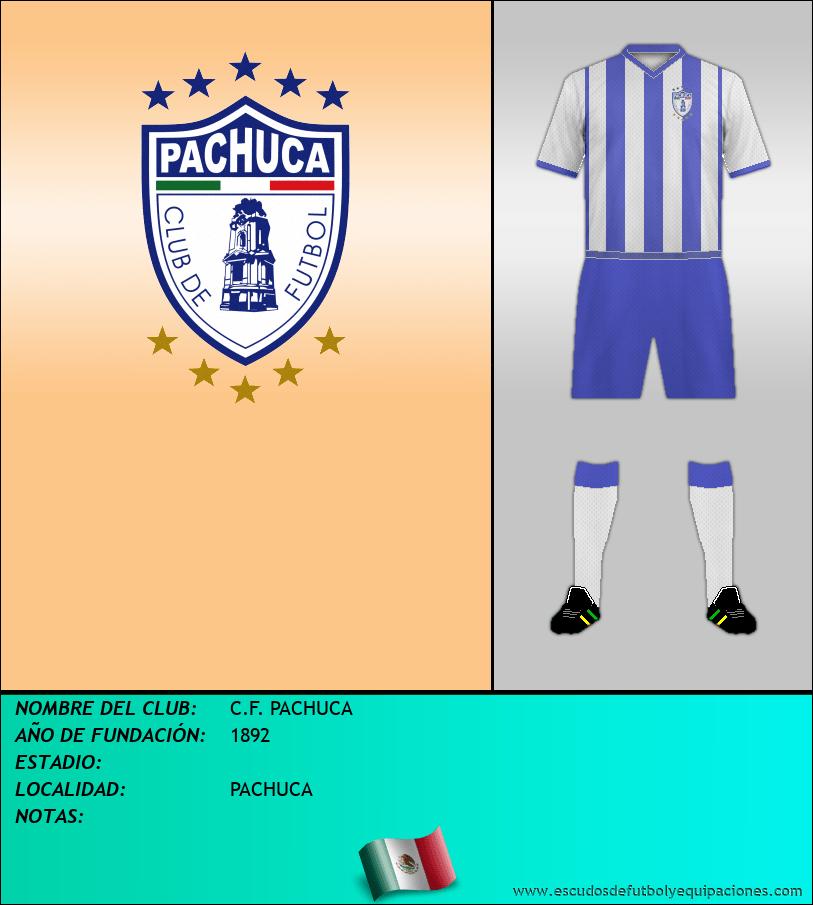 Escudo de C.F. PACHUCA