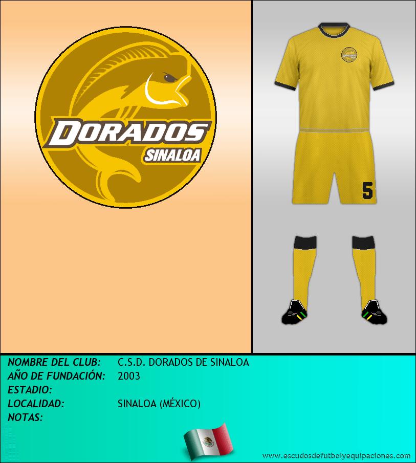 Escudo de C.S.D. DORADOS DE SINALOA