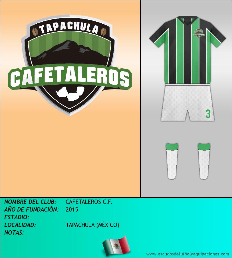 Escudo de CAFETALEROS C.F.