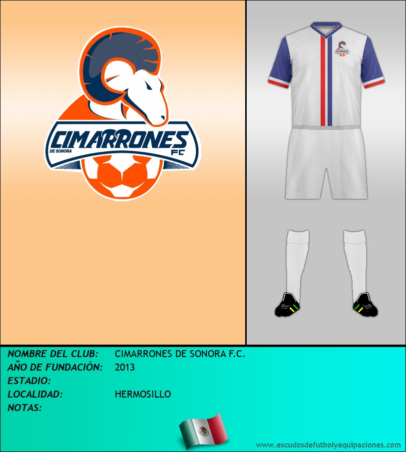 Escudo de CIMARRONES DE SONORA F.C.