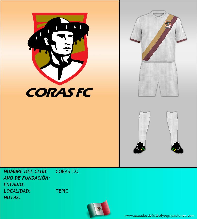 Escudo de CORAS F.C.