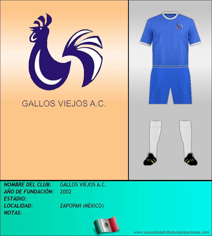 Escudo de GALLOS VIEJOS A.C.
