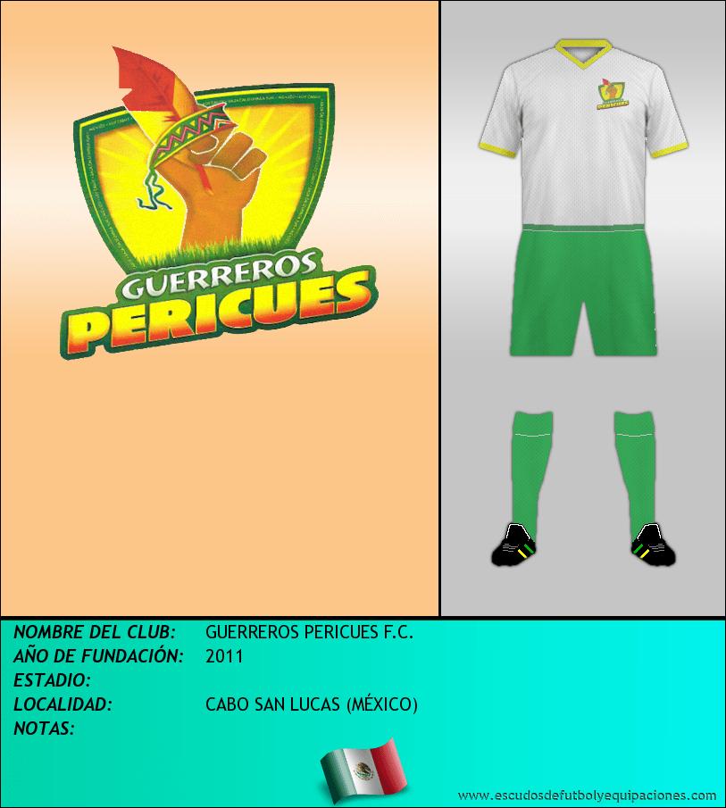 Escudo de GUERREROS PERICUES F.C.
