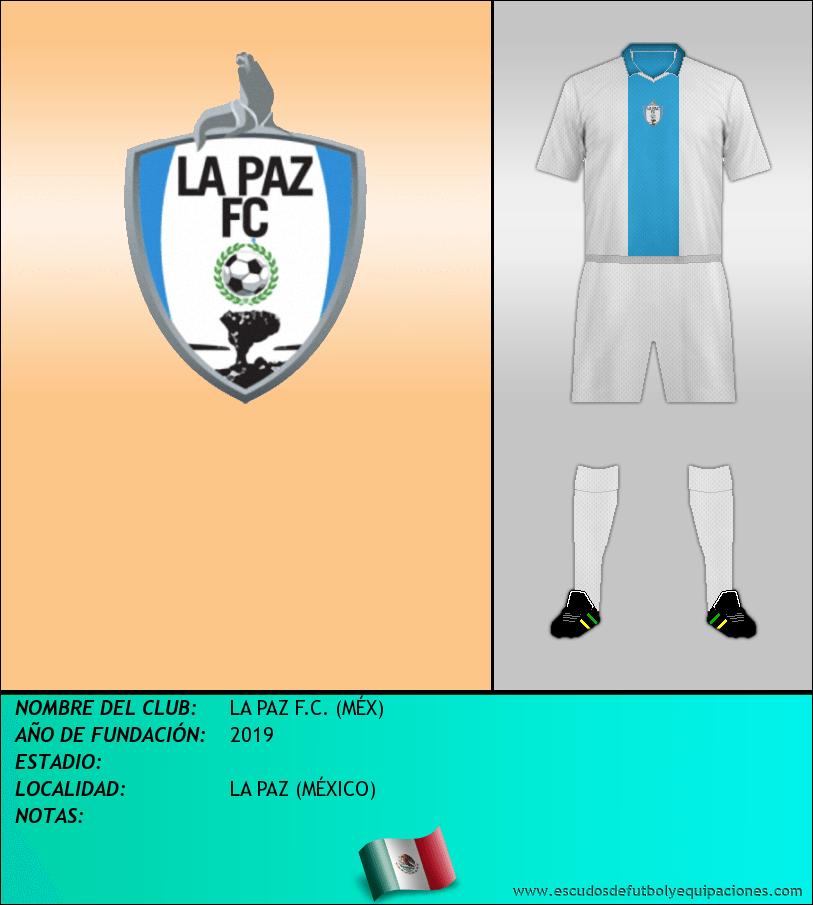 Escudo de LA PAZ F.C. (MÉX)