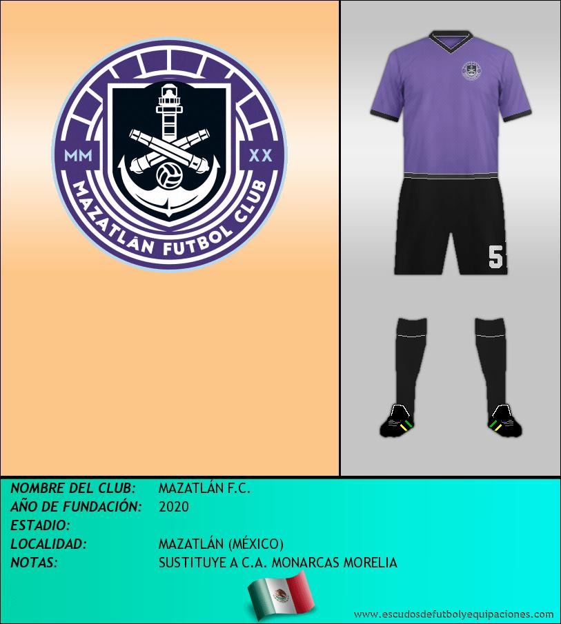 Escudo de MAZATLÁN F.C.