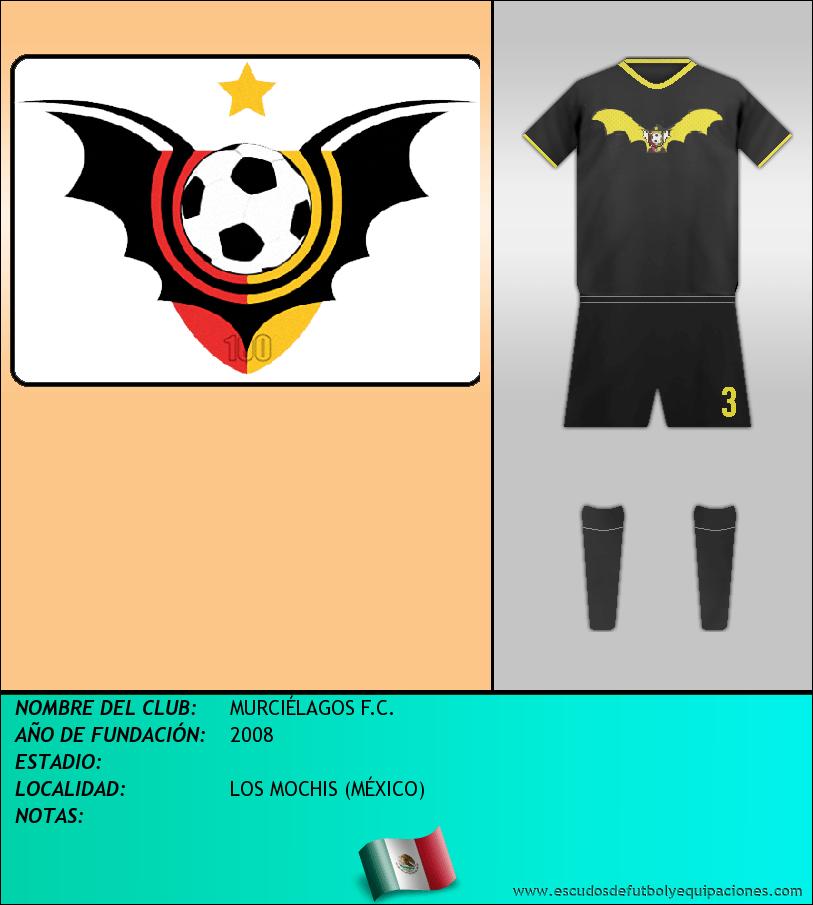 Escudo de MURCIÉLAGOS F.C.