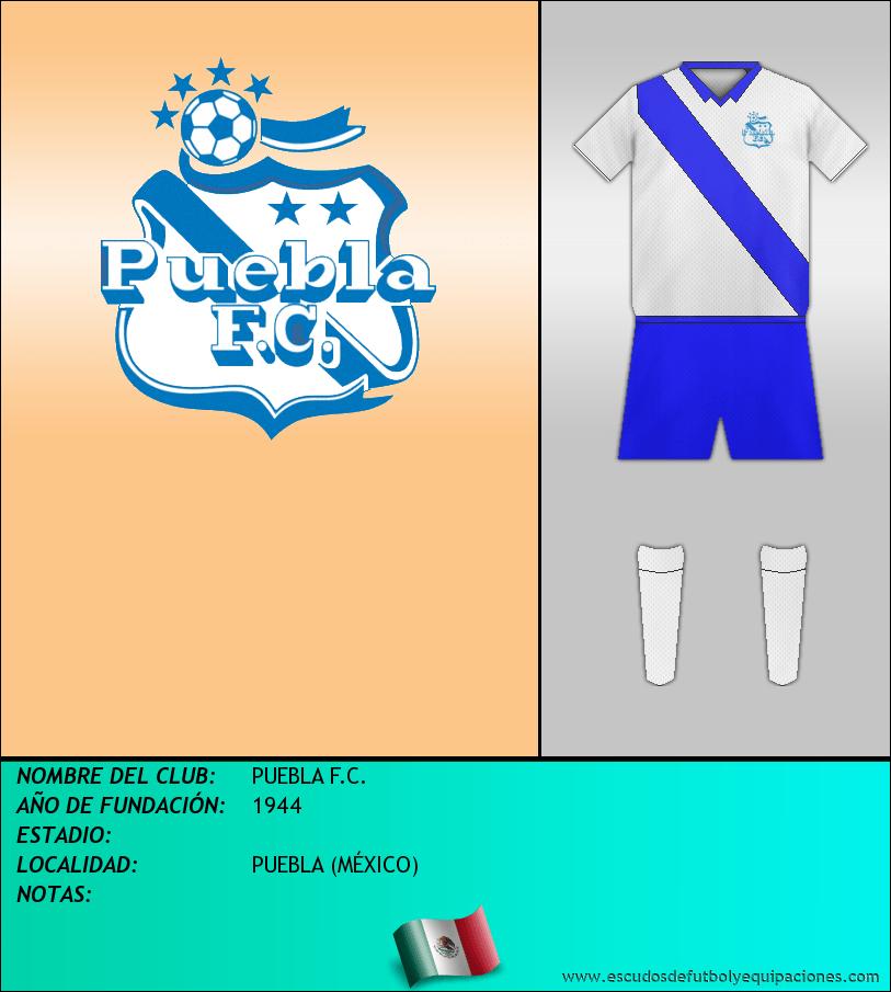 Escudo de PUEBLA F.C.