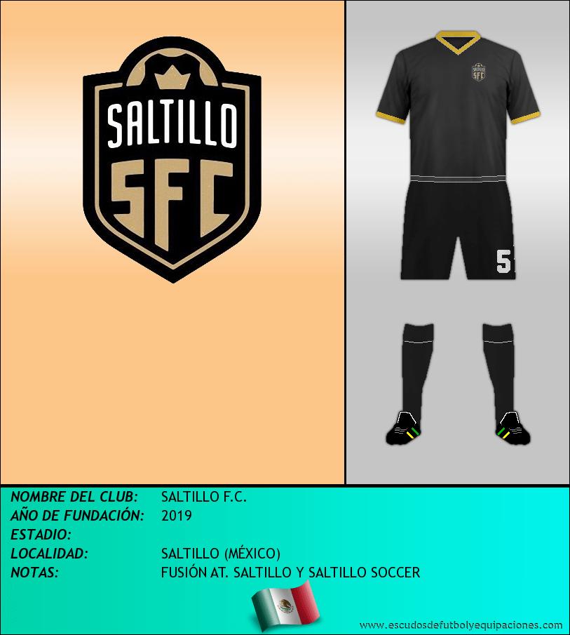 Escudo de SALTILLO F.C.