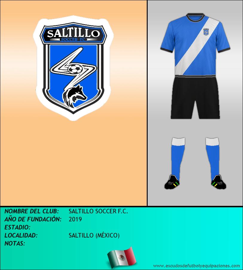 Escudo de SALTILLO SOCCER F.C.