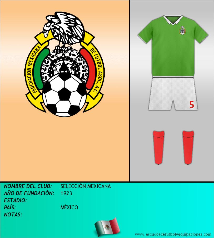 Escudo de SELECCIÓN MEXICANA