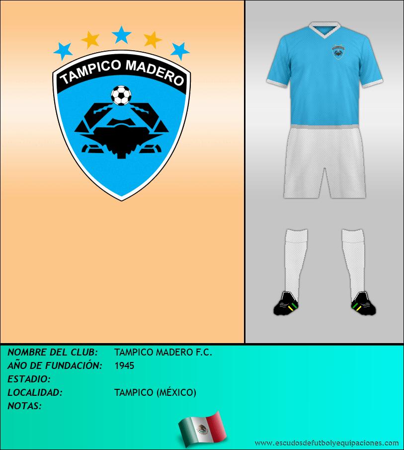 Escudo de TAMPICO MADERO F.C.