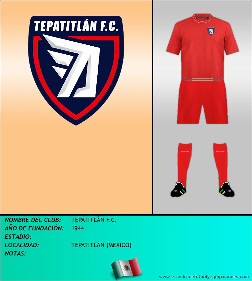 Escudo de TEPATITLÁN F.C.