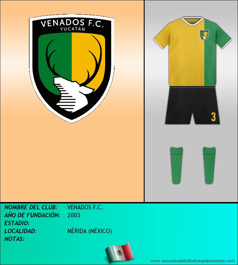 Escudo de VENADOS F.C.