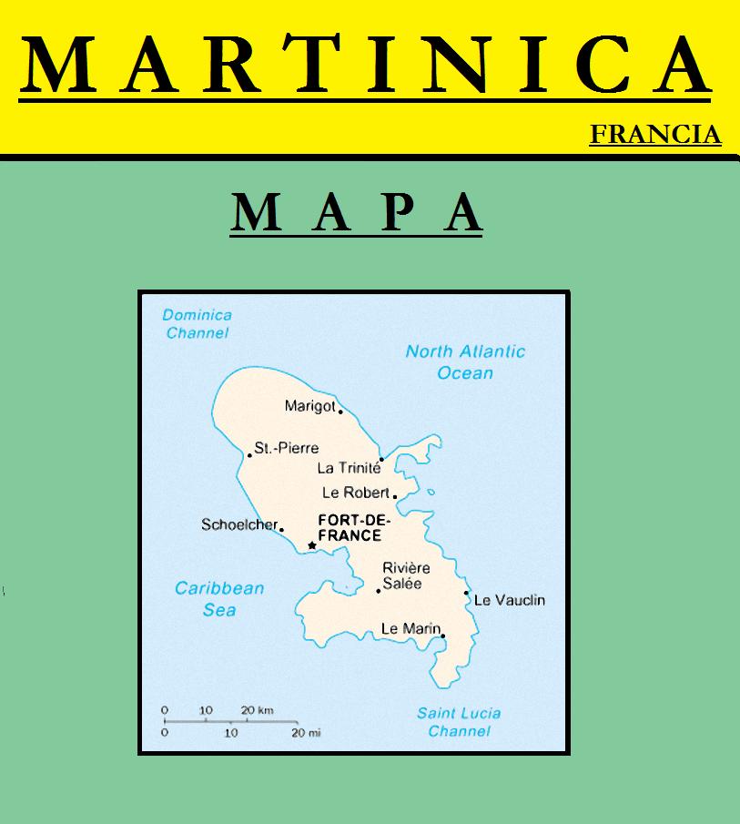 Escudo de MAPA DE MARTINICA