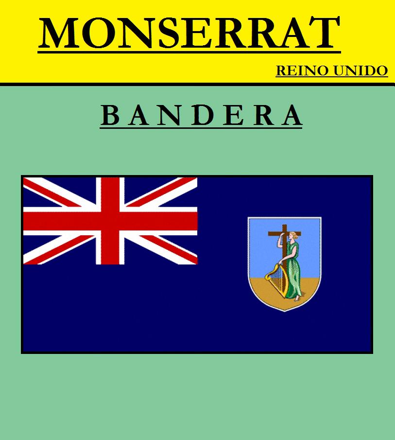 Escudo de BANDERA DE MONSERRAT