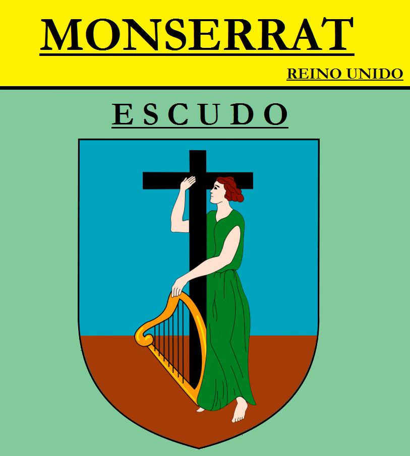 Escudo de ESCUDO DE MONSERRAT