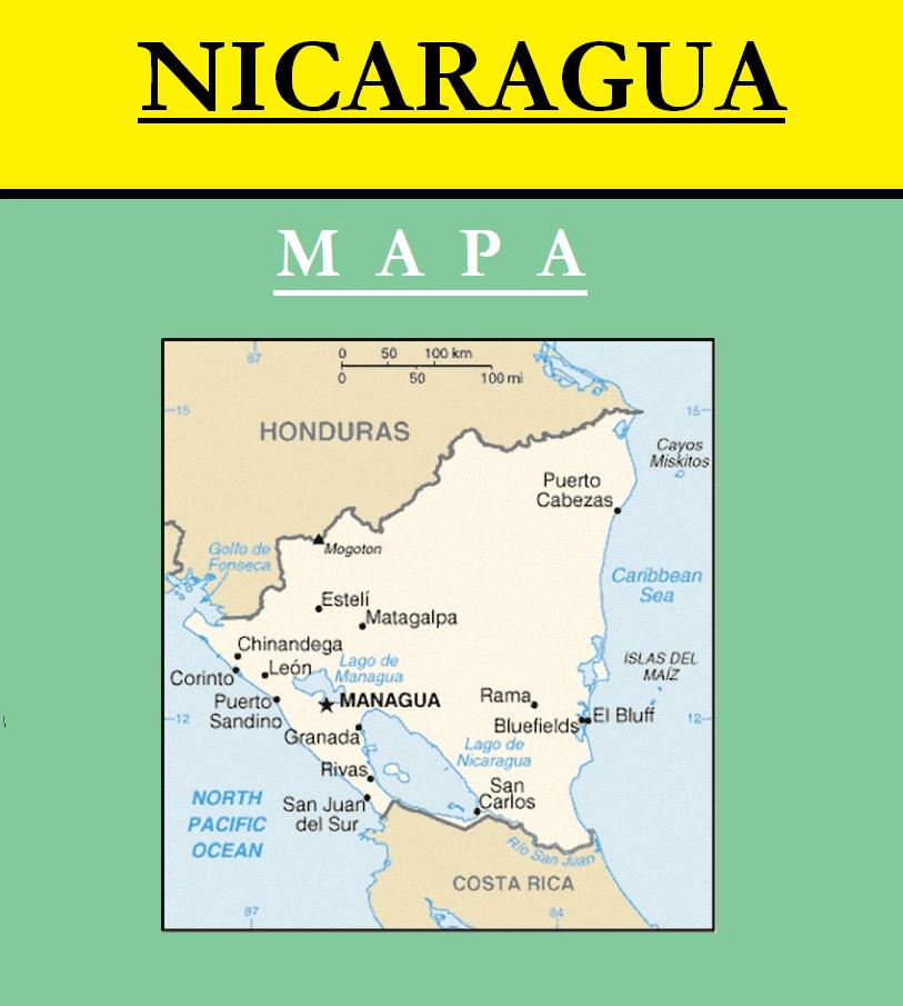 Escudo de MAPA DE NICARAGUA