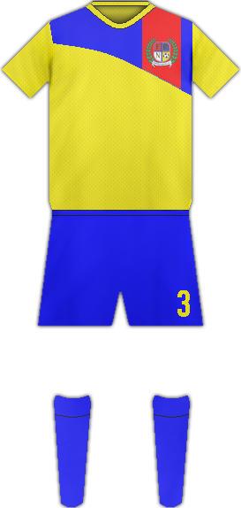 Equipación NANDASMO FC
