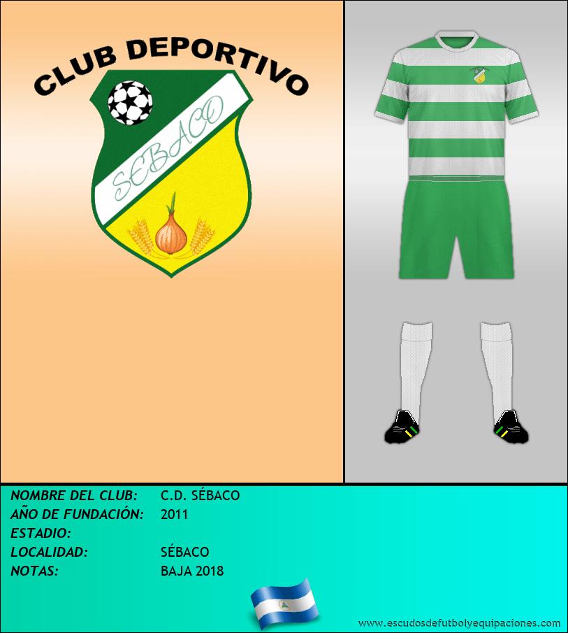 Escudo de C.D. SÉBACO
