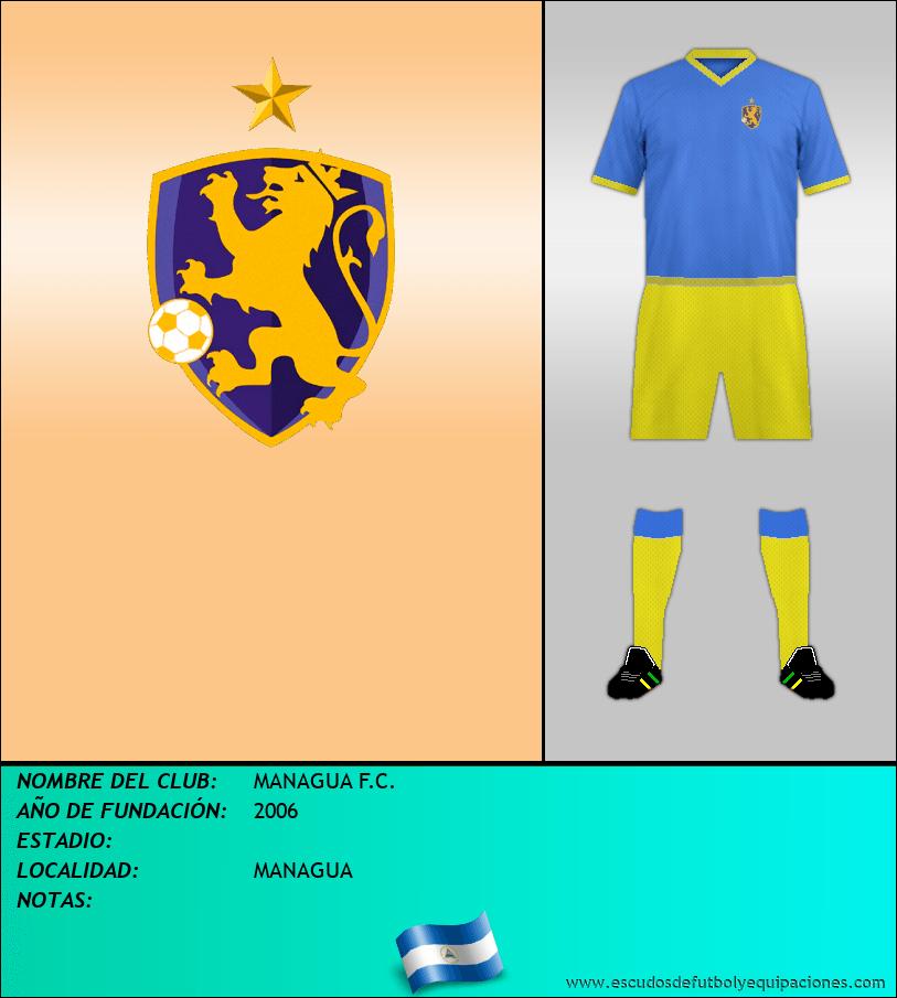 Escudo de MANAGUA F.C.