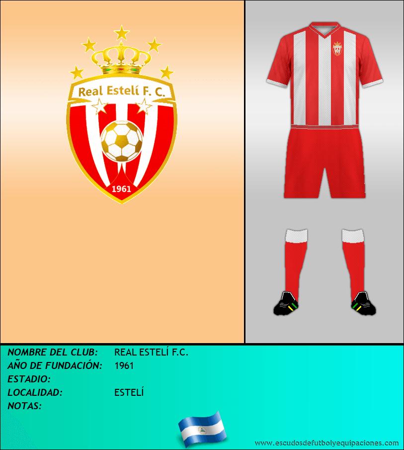 Escudo de REAL ESTELÍ F.C.