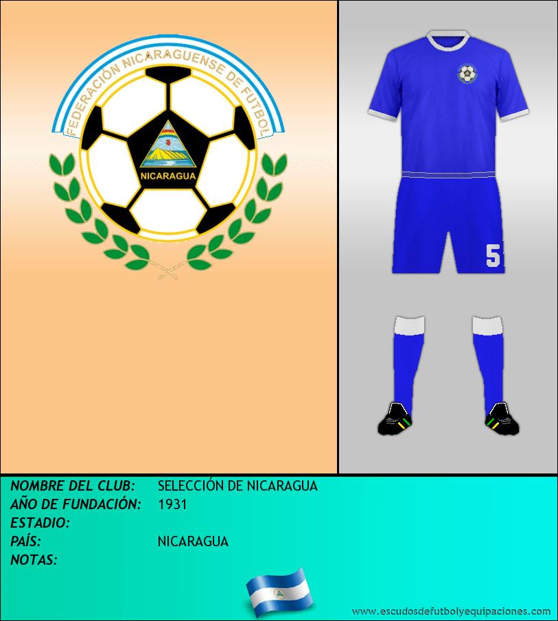 Escudo de SELECCIÓN DE NICARAGUA