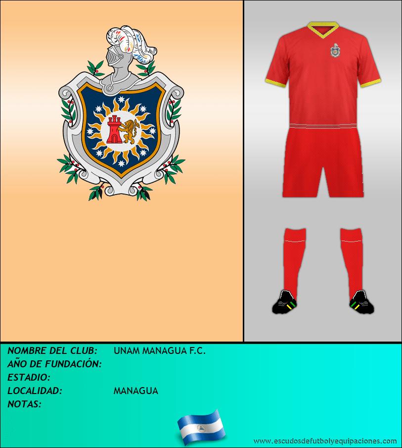 Escudo de UNAM MANAGUA F.C.
